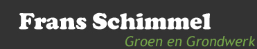 Frans Schimmel, Groen- en Grondwerk